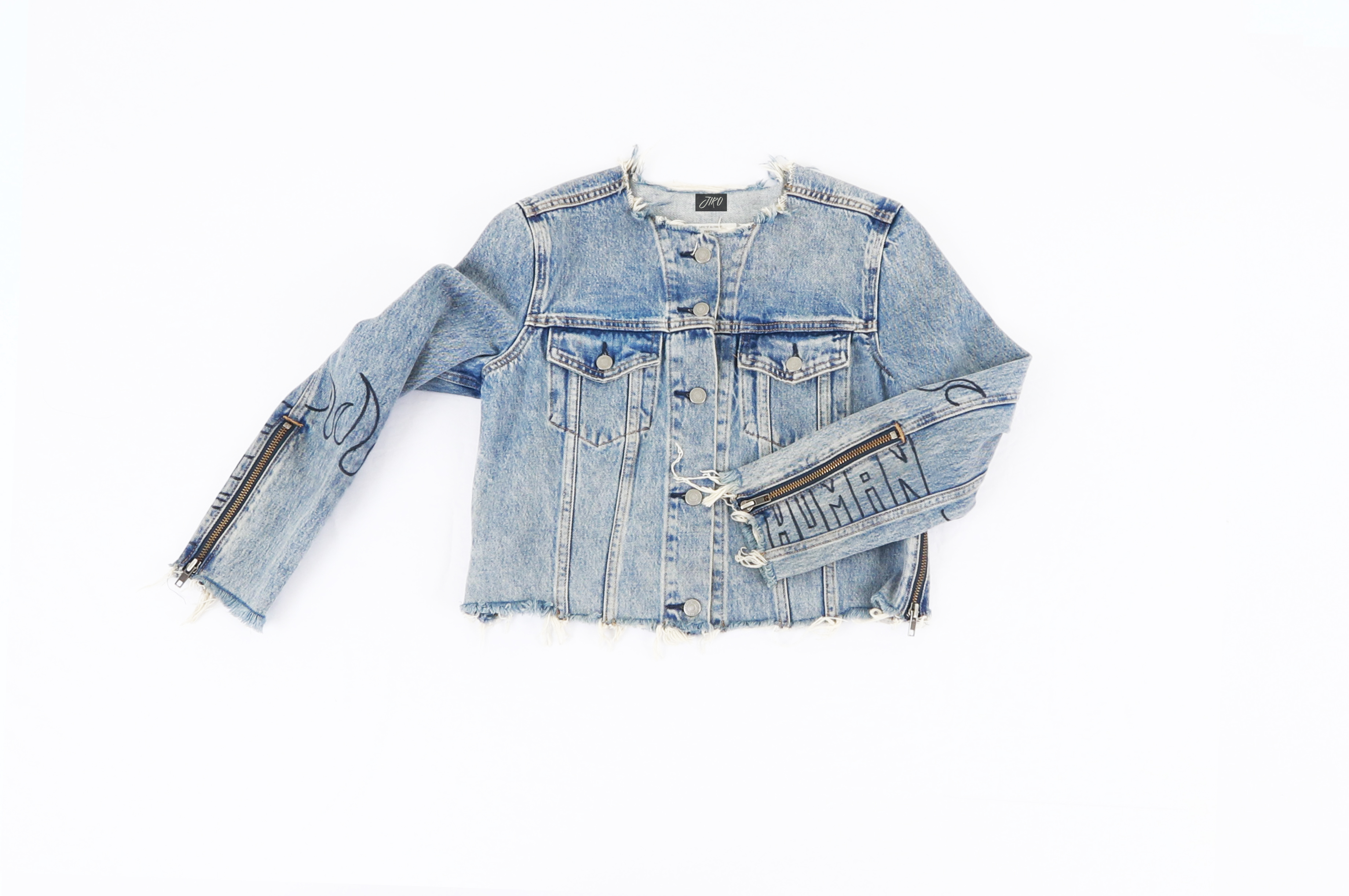 Jiro custom denim jacket